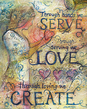 Serve Love Create by Jen Norton