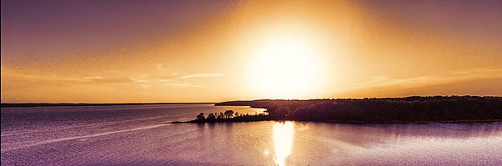 Barry Jones - Setting Sun - Panoramic Sunset