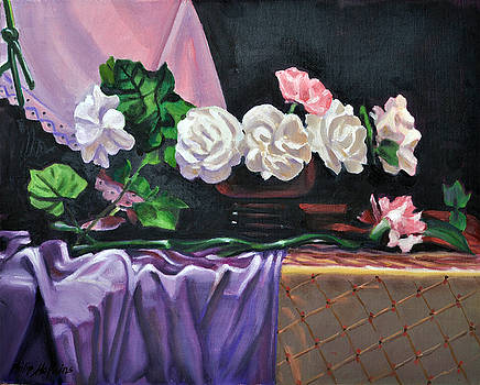 Seven Carnations by Phil Hopkins