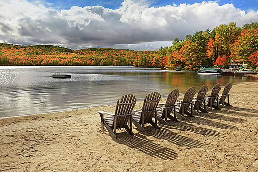 Seven Chairs for Relaxing by Shelle Ettelson