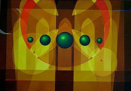 Seven Windows - 3 by Alberto D-Assumpcao