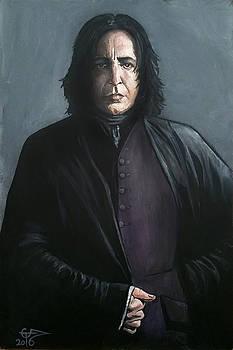 Severus Snape by Tom Carlton