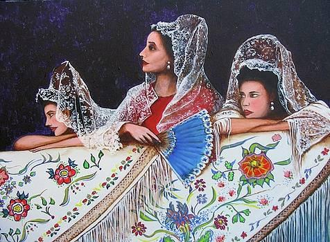 Sevilla's ladies by Jorge Parellada