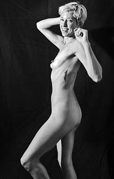 Sexy Blonde Woman by Alkstudio SP