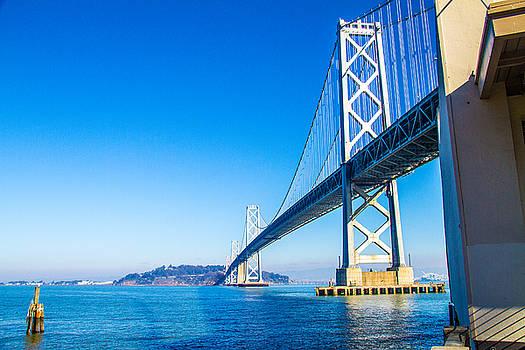 S.F.Bay Bridge by Brian Williamson
