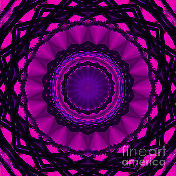 Shades of Pink Mandala by Cindi Ressler