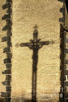 BERNARD JAUBERT - Shadow of a cross on a wall.