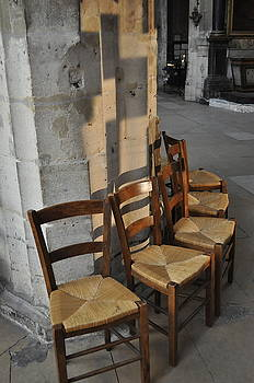 Shadows and Chairs by Chris Koval