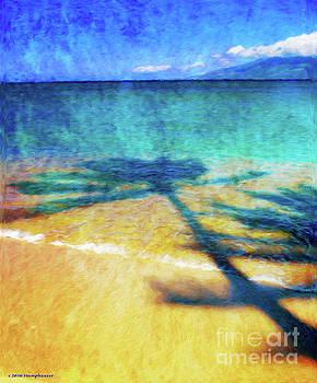 Shadows On The Beach by Jerome Stumphauzer