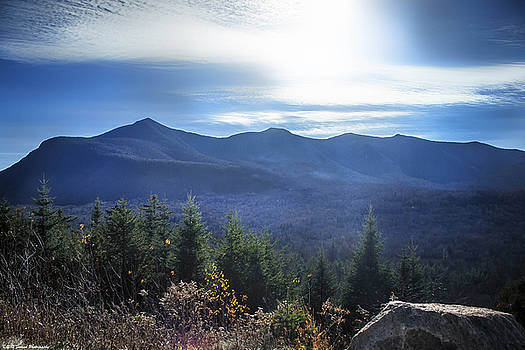 Shadows Of The Majestic , White Mountains by Debra Forand