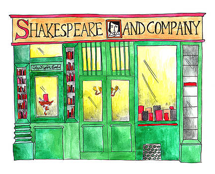 Anna Elkins - Shakespeare and Company