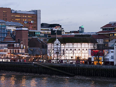 Shakespeare's Globe by David Isaacson