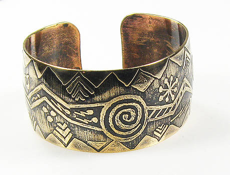Shaman's Ritual Cuff Bracelet by Virginia Vivier