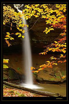 Shanty Hollow Falls by Keith Bridgman