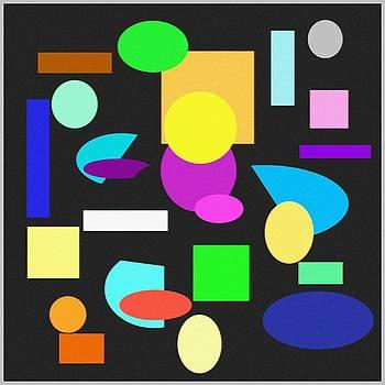 Shapes II by Jacqueline Mason