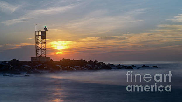 Shark River Inlet Bug Light by Jerry Fornarotto