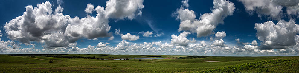 Sharps Creek Road Panorama by Eric Benjamin