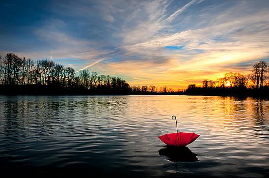 She Floats Away by Brian Bonham