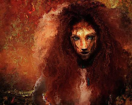 She Lion by Terry Fleckney