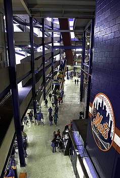 Shea Stadium Walkways by Paul Plaine