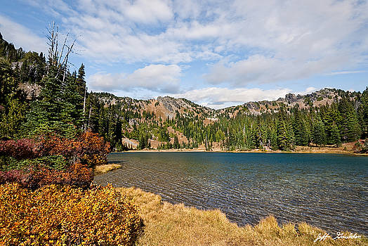 Sheep Lake in the Fall by Jeff Goulden