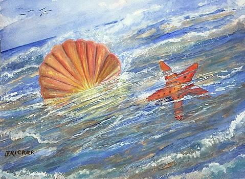 Shell Star  by Jane Ricker