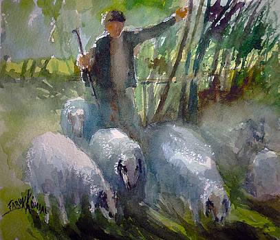 Shepherd... by Faruk Koksal