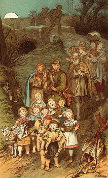 Victor Paul Mohn - Shepherds on their way to Bethlehem