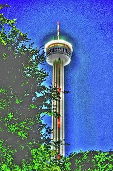 Shimmering Tower of America by Barbara Kelley