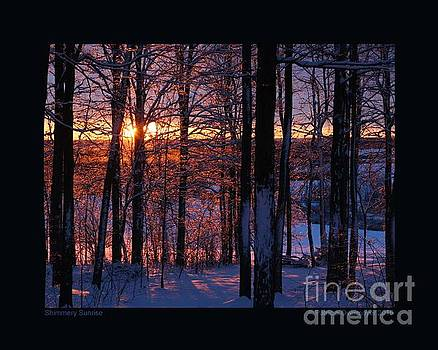 Shimmery Sunrise by Patricia Overmoyer