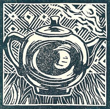Shiny teapot by Jennifer Harper