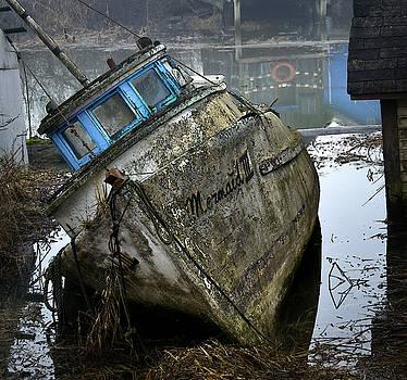 Ship at rest by Detlef Klahm