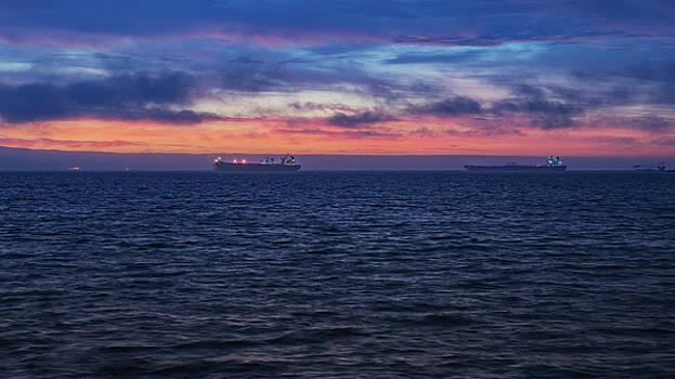 Ships On The Horizon by Joseph Hollingsworth