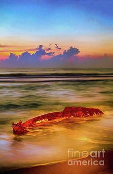 Dan Carmichael - Shipwreck on the Outer Banks the End AP