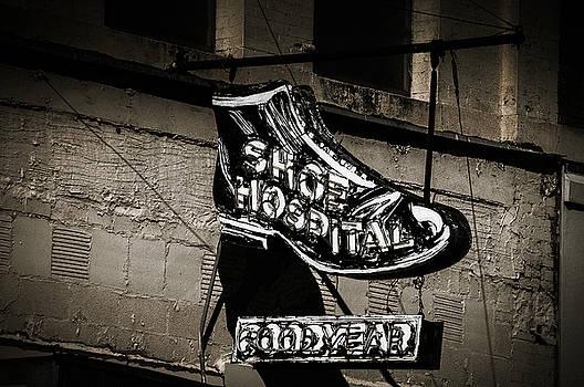 Shoe Hospital by Phillip Burrow