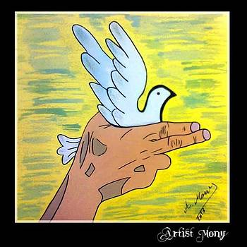 #shoot #shootpeace #peace #art by Eman Allam