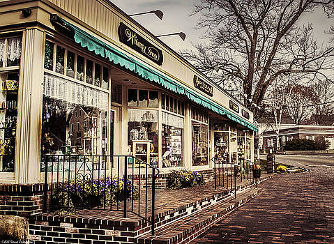 Shopping at Kennebunkport Maine by Debra Forand