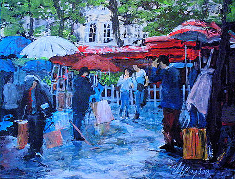Shopping Montmartre by Maryann Boysen