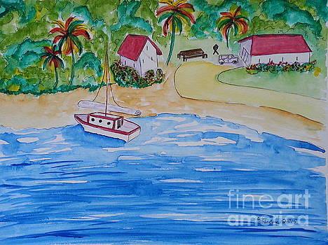 Shore Side Life by Karleen Kareem