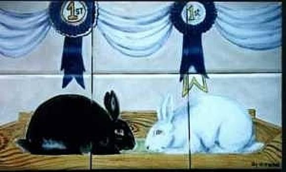 Show Bunnies by Dy Witt