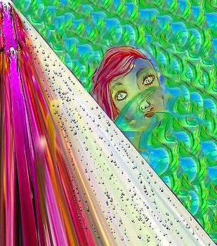 Shower Curtain by Myrna Migala