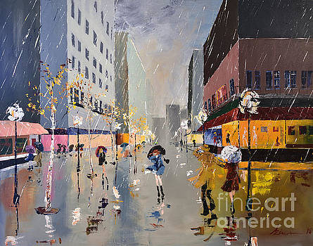 Showers and Gusts by Al Zimmerman