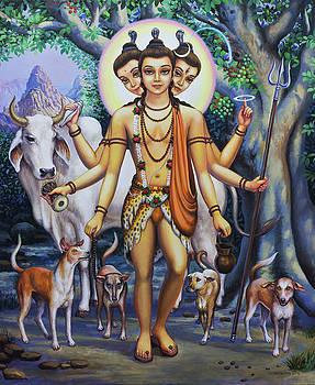 Shree Dattatreya by Vrindavan Das