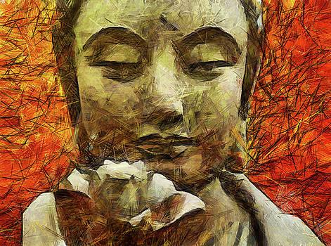Shreem Namaha  by Sir Josef - Social Critic - ART