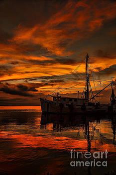 Dave Bosse - Shrimp Boat Sunset