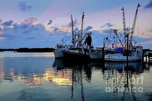 Shrimp Boats by Debbie Green