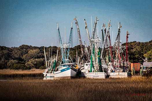 Shrimp Trawlers by Lynne Jenkins