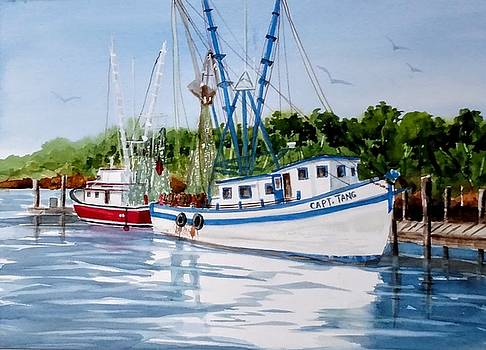 Shrimpers by Becky Taylor