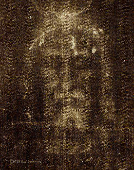 Shroud of Turin by Ray Downing