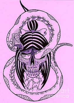Shrunken Head by Kev G